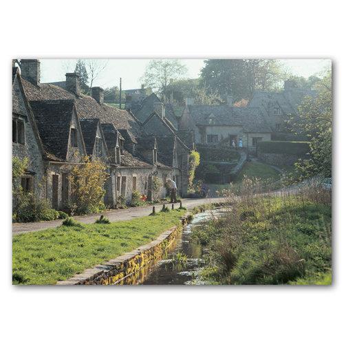 Bibury Arlington Row - Sold in pack (100 postcards)