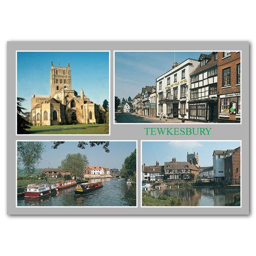 Tewkesbury Comp - Sold in pack (100 postcards)