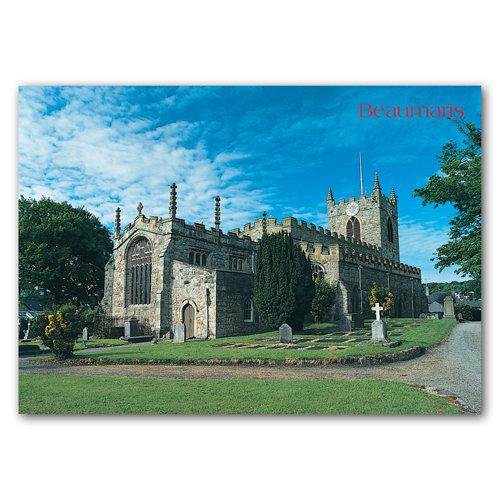 Beaumaris Church - Sold in pack (100 postcards)