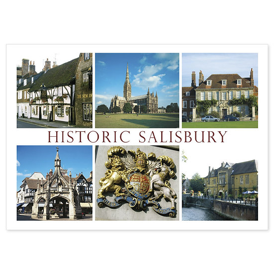 Salisbury Historic - Sold in pack (100 postcards)
