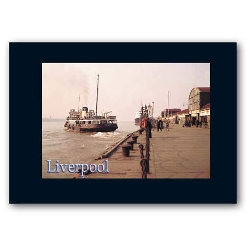 Liverpool Bygone Years - Sold in pack (100 postcards)