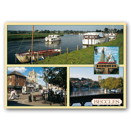 Beccles Comp - Sold in pack (100 postcards)