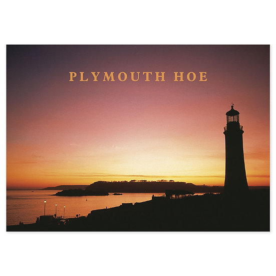Plymouth Hoe - Sold in pack (100 postcards)