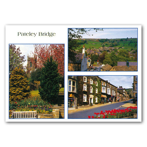 Pateley Bridge - Sold in pack (100 postcards)