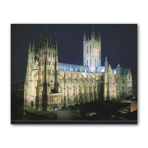 Canterbury The Cathedral Flood - Sold in pack (100 postcards)