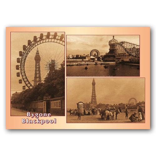Blackpool Bygone - Sold in pack (100 postcards)