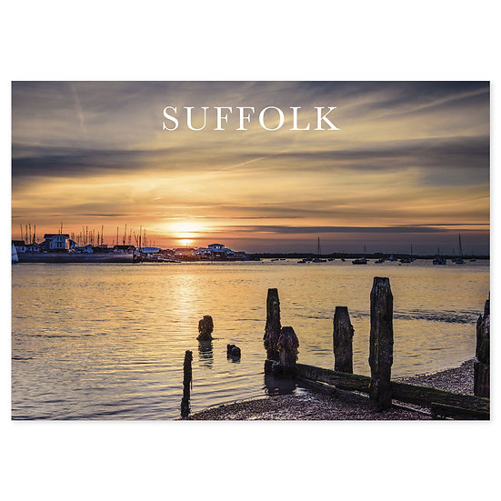 Suffolk Coast - Sold in pack (100 postcards)