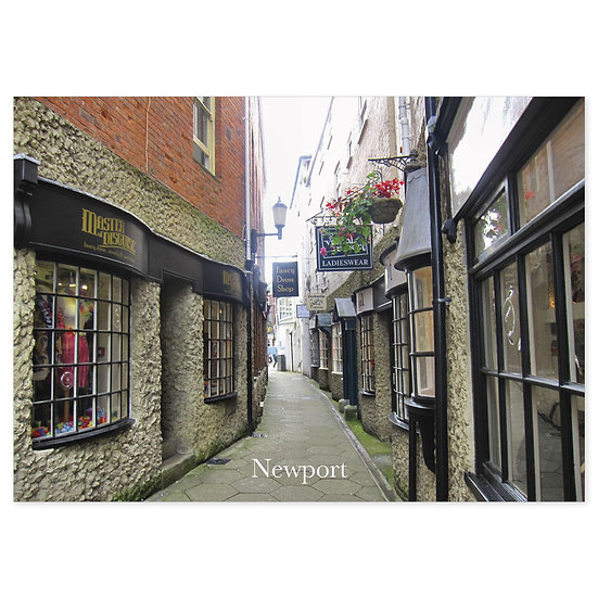 Isle of Wight Newport - Sold in pack (100 postcards)