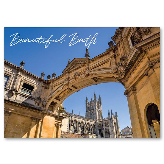 Bath Abbey - Sold in pack (100 postcards)