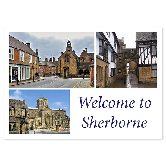 Sherborne Comp - Sold in pack (100 postcards)