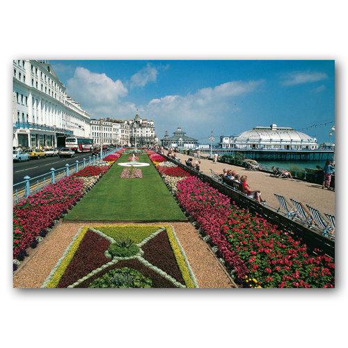 Eastbourne Carpet Gardens - Sold in pack (100 postcards)