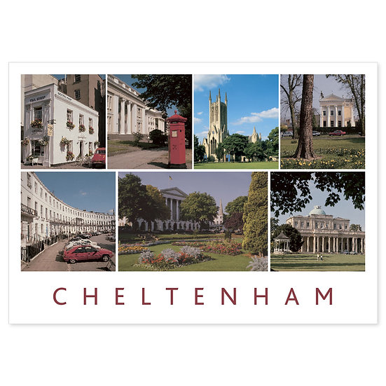 Cheltenham Compilation - Sold in pack (100 postcards)