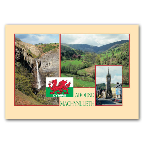 Machynlleth Comp - Sold in pack (100 postcards)
