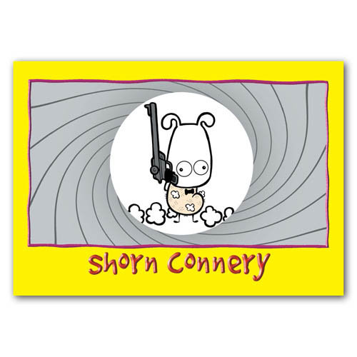 Baa - Shorn Connery - Sold in pack (100 postcards)