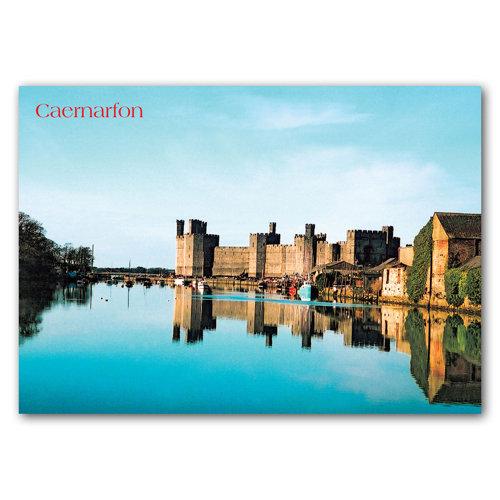 Caernarfon - Sold in pack (100 postcards)