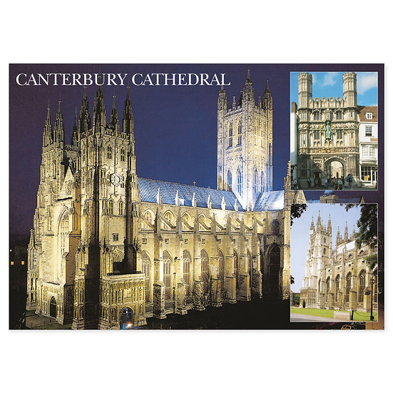 Canterbury Cathedral Night - Sold in pack (100 postcards)