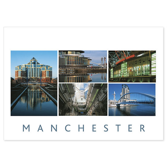 Manchester Architecture - Sold in pack (100 postcards)