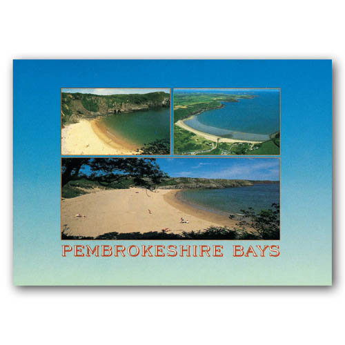 Pembrokeshire Bays - Sold in pack (100 postcards)