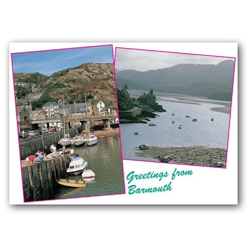 Barmouth - Sold in pack (100 postcards)