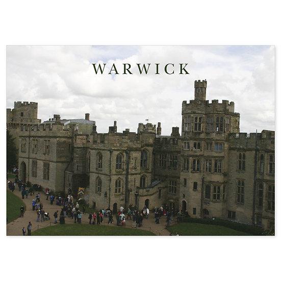 Warwick Castle - Sold in pack (100 postcards)