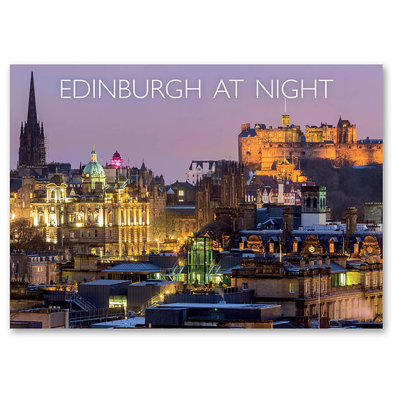 Edinburgh, A view from Calton Hill - Sold in pack (100 postcards)
