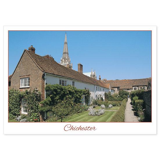Chichester Garden - Sold in pack (100 postcards)