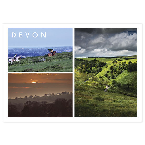 Devon Countryside - Sold in pack (100 postcards)