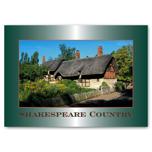 Stratford-Upon-Avon Shakespeare - Sold in pack (100 postcards)