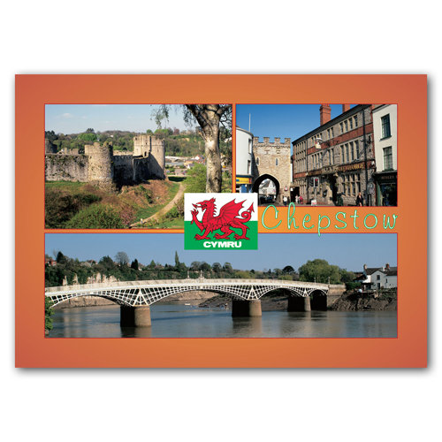 Chepstow - Sold in pack (100 postcards)