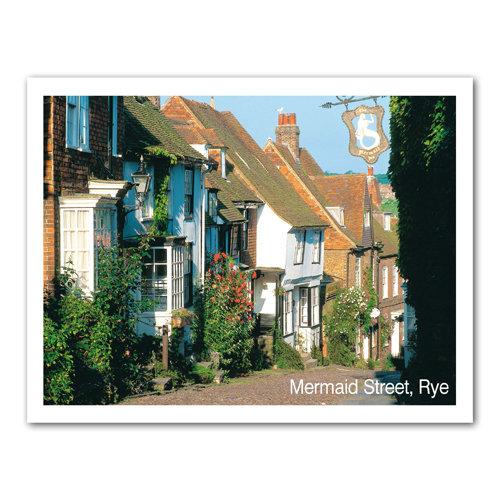 Rye Mermaid Street - Sold in pack (100 postcards)