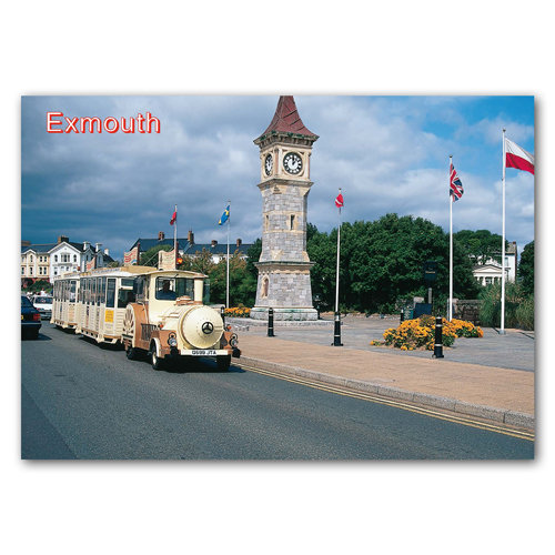 Exmouth - Sold in pack (100 postcards)