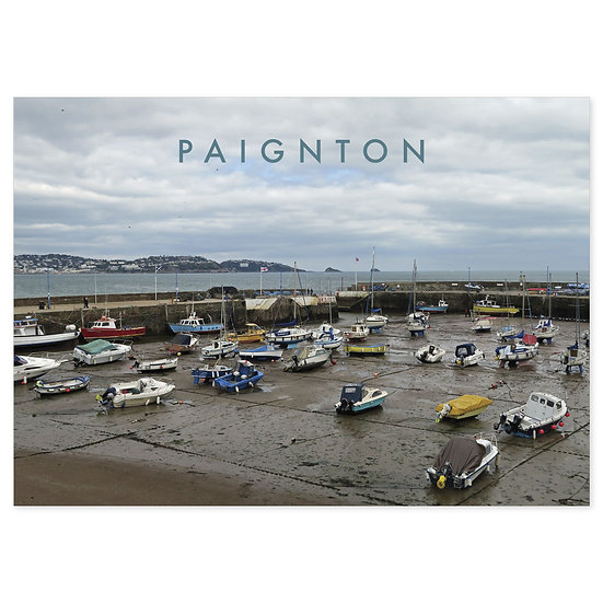 Paignton Harbour - Sold in pack (100 postcards)