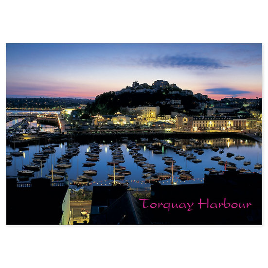 Torquay Harbour - Sold in pack (100 postcards)