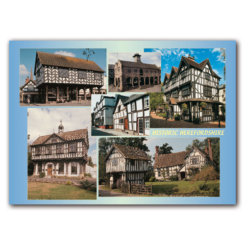 Herefordshire Historic - Sold in pack (100 postcards)