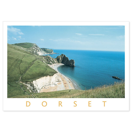 Dorset Heritage Coast of Dorset - Sold in pack (100 postcards)