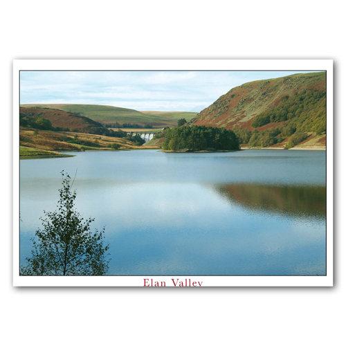 Elan Pen Garreg and Craig Goch Dam - Sold in pack (100 postcards)