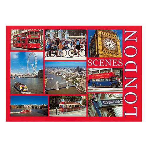London - Sold in pack (100 postcards)