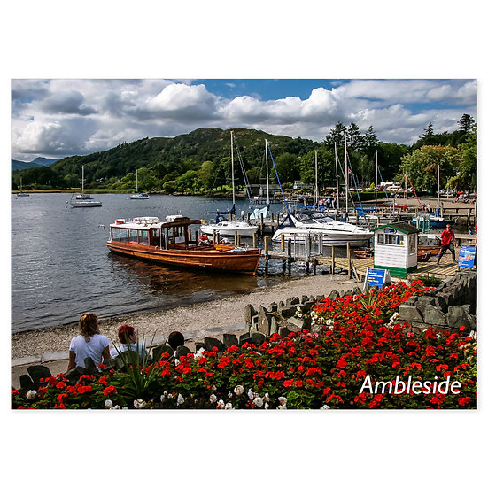 Ambleside - Sold in pack (100 postcards)