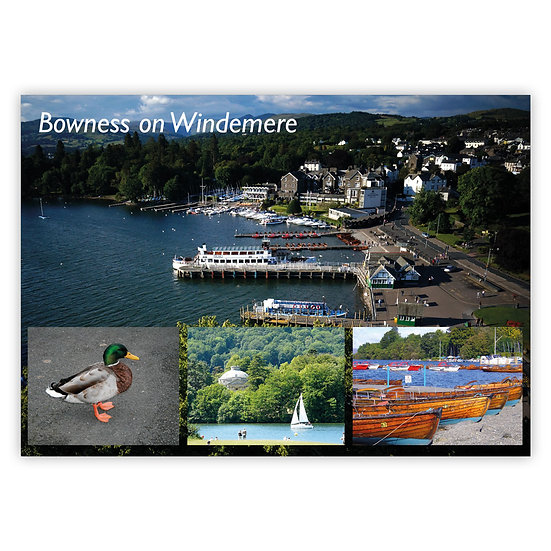 Bowness on Windermere Comp - Sold in pack (100 postcards)