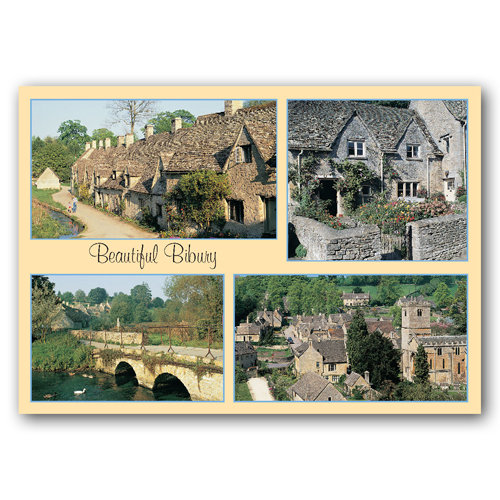 Bibury Beautiful Comp - Sold in pack (100 postcards)
