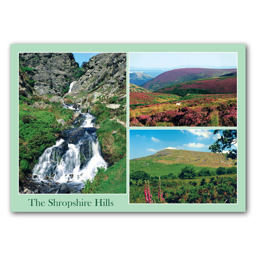 Shropshire Hills - Sold in pack (100 postcards)