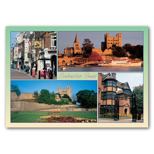 Rochester Views - Sold in pack (100 postcards)