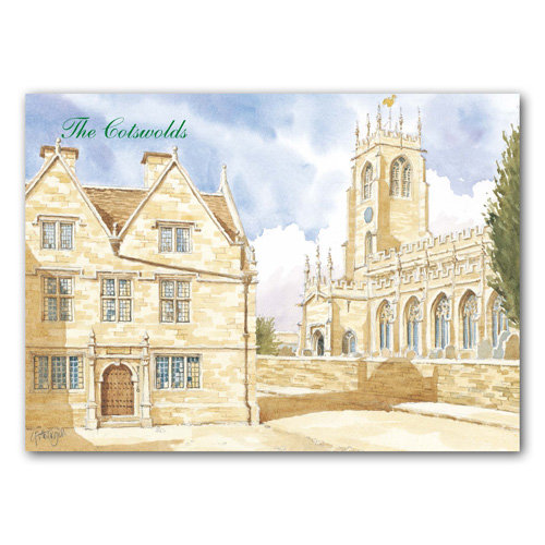 Winchcombe Watercolour - Sold in pack (100 postcards)