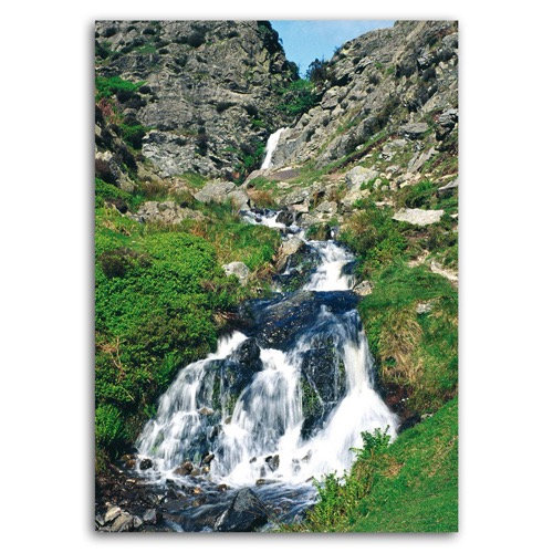 Carding Mill Valley Light Spout Waterfall - Sold in pack (100 postcards)
