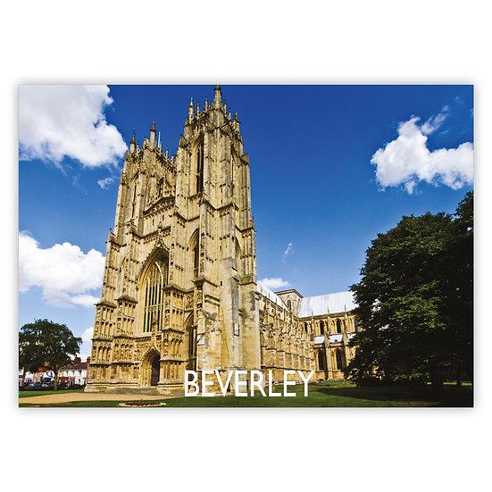 Beverley Minster - Sold in pack (100 postcards)