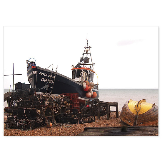 Deal Fishing Boat - Sold in pack (100 postcards)