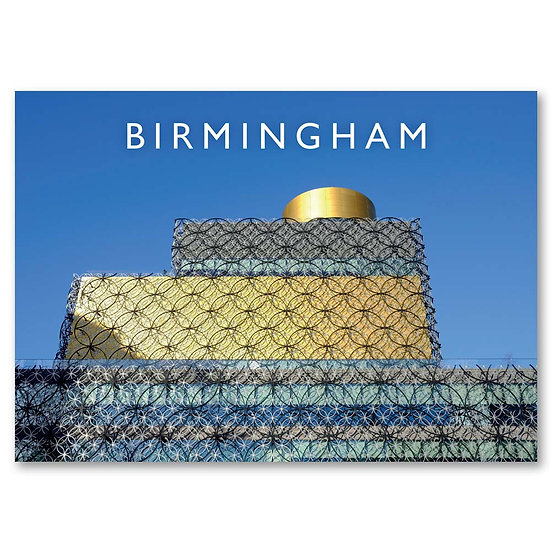 Birmingham, The Library - Sold in pack (100 postcards)