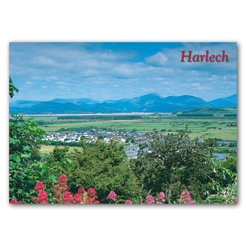 Harlech - Sold in pack (100 postcards)
