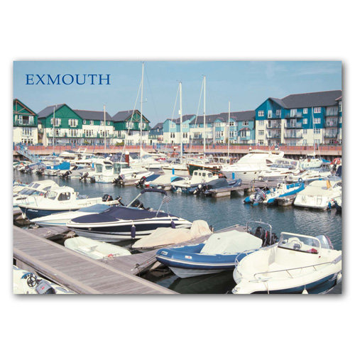 Exmouth Marina - Sold in pack (100 postcards)