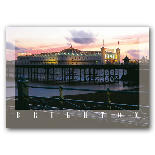 Brighton Pier - Sold in pack (100 postcards)